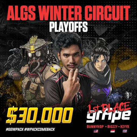 WolfPack Dominasi Apex Legends (ALGS) Winter Circuit