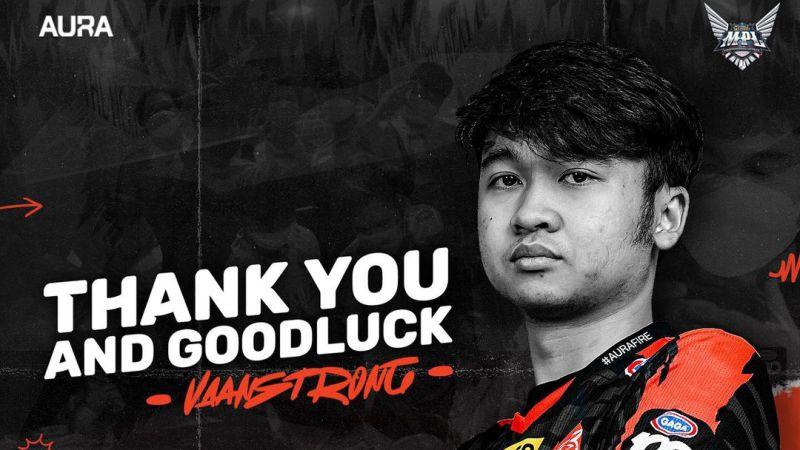 AURA Esports Umumkan Farewell, EVOS Vanstrong Is Real!