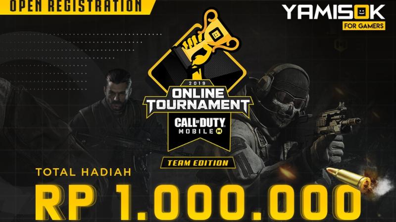 Yamisok COD Mobile Tournament, Saatnya Unjuk Kemampuanmu!