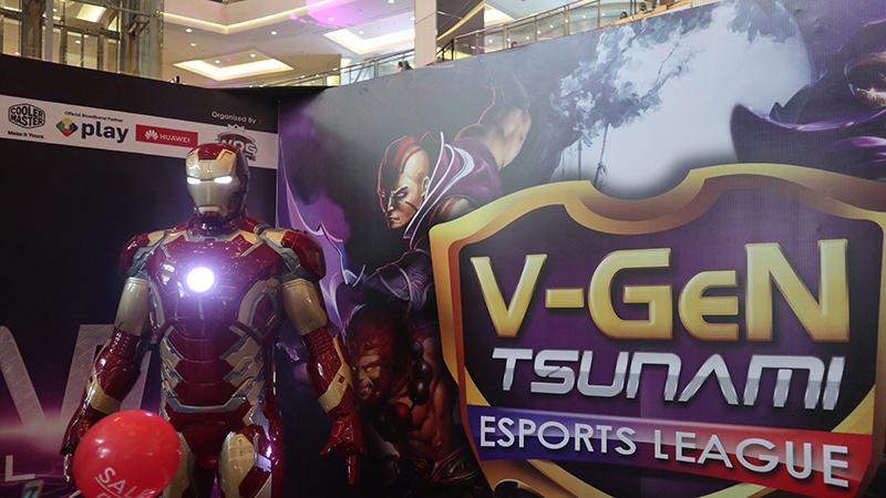 V-Gen Tsunami Esports League: Tempat Amatir dan Pro Jadi Juara