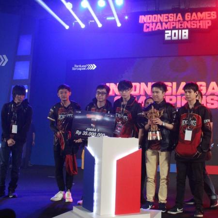 Renegades Angkat Trofi 'Terakhir' di Indonesia Games Championship 2018