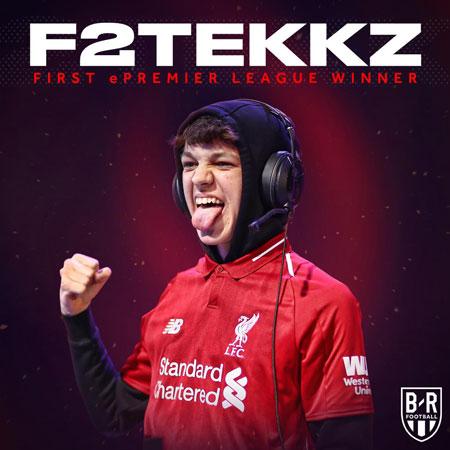 F2Tekkz Bawa 'The Reds' Juarai Liga Inggris Versi FIFA 19
