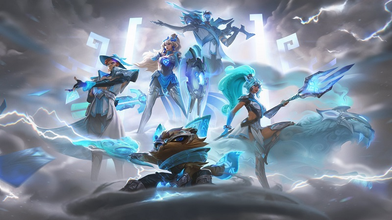 Riot Bagikan Penampakan Final Skin Worlds DAMWON Gaming!