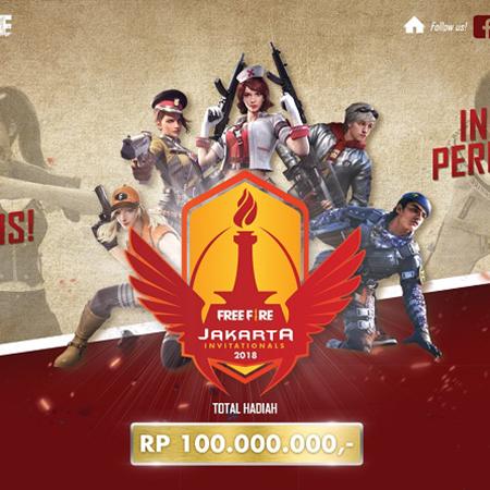 Jakarta Invitationals 2018 dan Agenda Turnamen Free Fire
