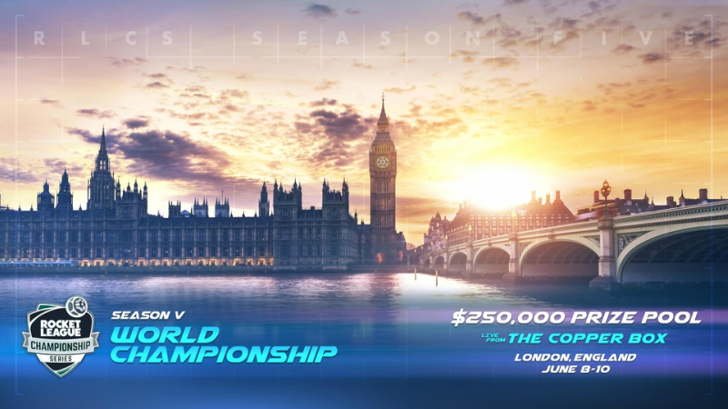 Rocket League Championship Series Musim Kelima Sambangi London