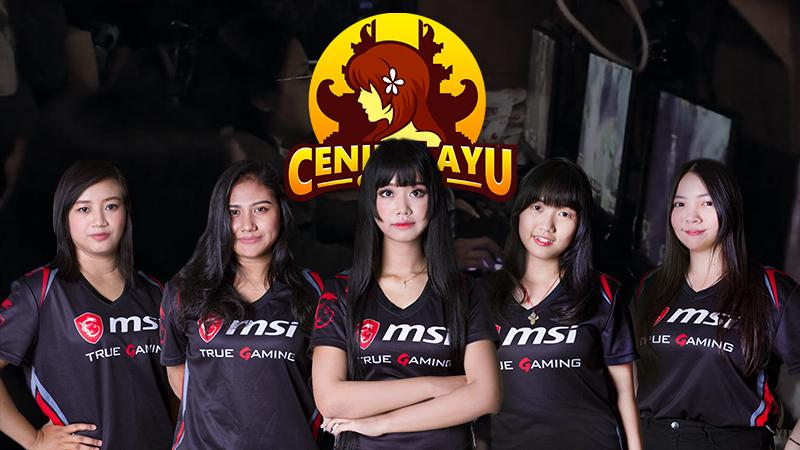 Cening Ayu Gaming, Pesona Tim eSports Ladies Asal Bali