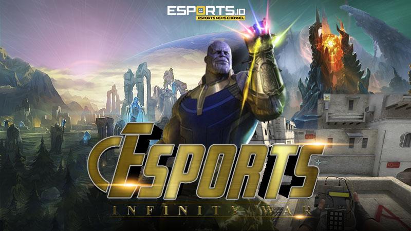 Infinity War, Ragam Pertandingan eSports Terpanjang dalam Sejarah
