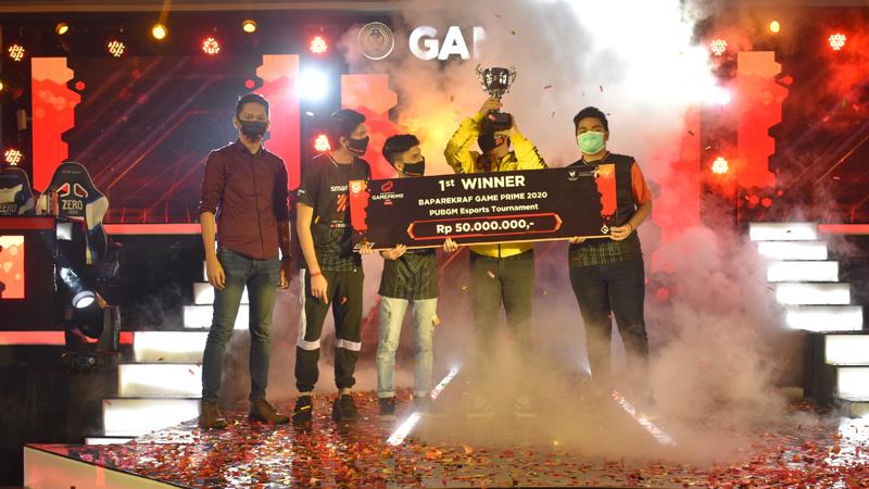 Morph Team Juara PUBG Mobile Baparekraf Game Prime 2020!