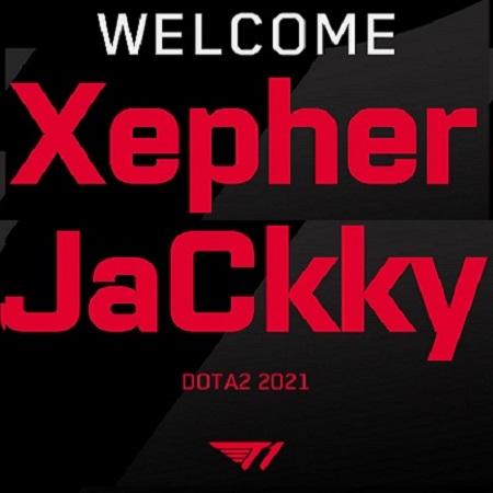 Resmi! Xepher & JaCkky Jadi Pemain Terbaru T1