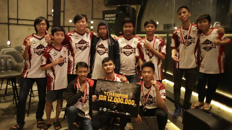 Rekrut Talenta Muda, PG.BarracX Buka Academy Season II