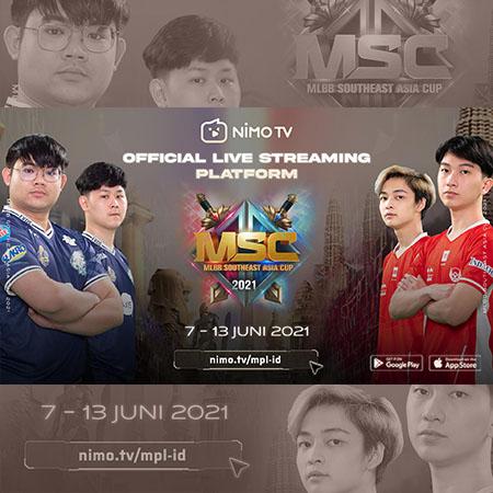 Dukung Tim Indonesia di MSC 2021 dan Raih Legendary Skin!