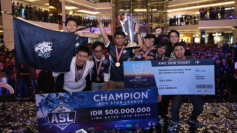 Pertandingan Puncak AWC 2018, Ayo Indonesia!