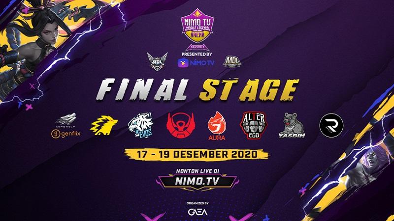 Masuki Babak Akhir, 8 Tim Terbaik Lolos ke Final Stage NMA Season 2