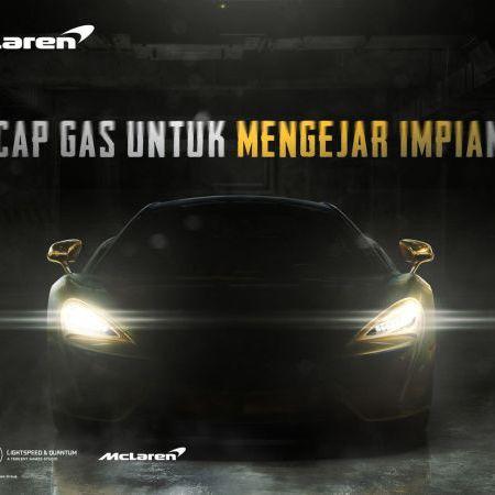 Berolaborasi dengan PUBG Mobile, McLaren Hadirkan 570S Coupé