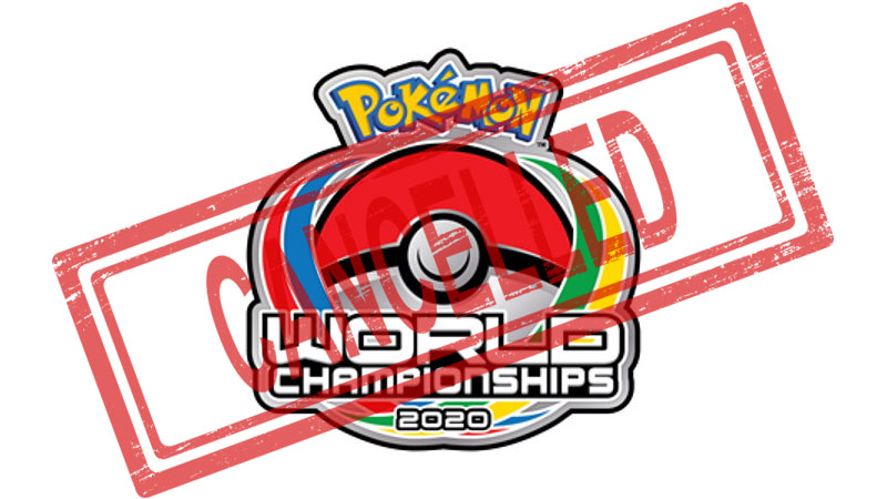 Pandemi COVID-19, Kejuaraan Dunia Pokemon 2020 Dibatalkan