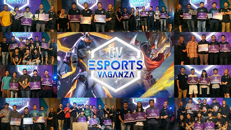 Jawara Gamer Ukir Prestasi di GV Esports Vaganza