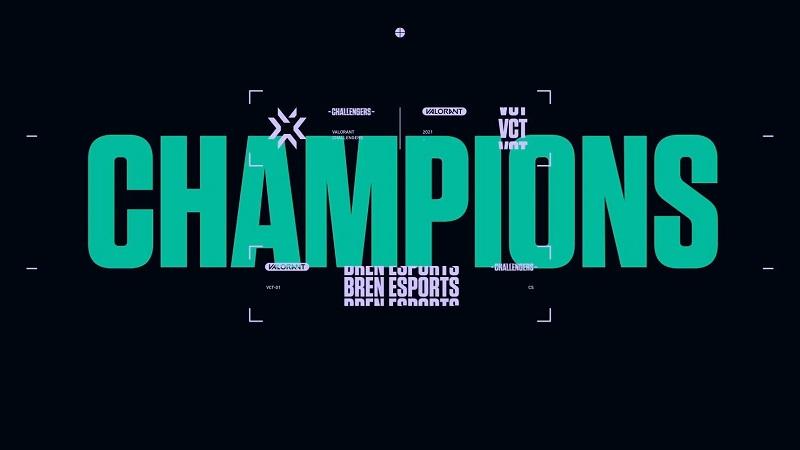 Paper Rex Tumbang di Final, BREN Kampiun Valorant SEA Challengers!