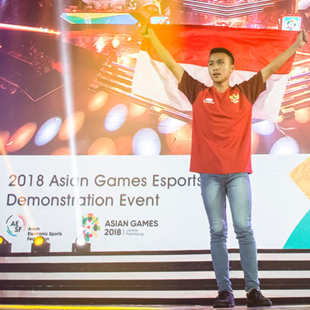 BenZer Ridel, 'Bocah Emas' Clash Royale Indonesia di AG 2018