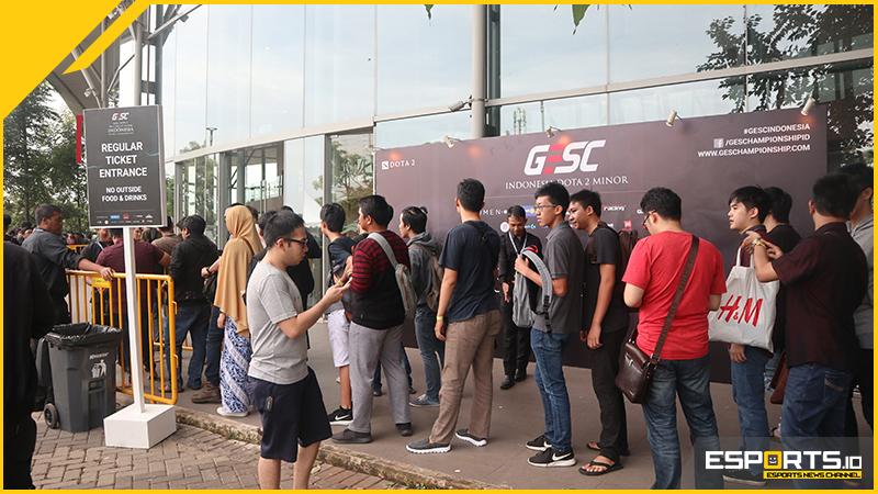 Antrian Panjang Warnai GESC, Fans DOTA 2 Kumpul Jadi Satu!
