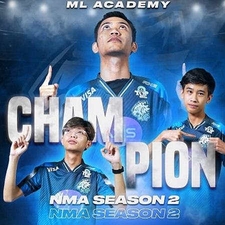 EVOS Academy Akhiri Puasa Gelar Usai Juarai NMA Season 2