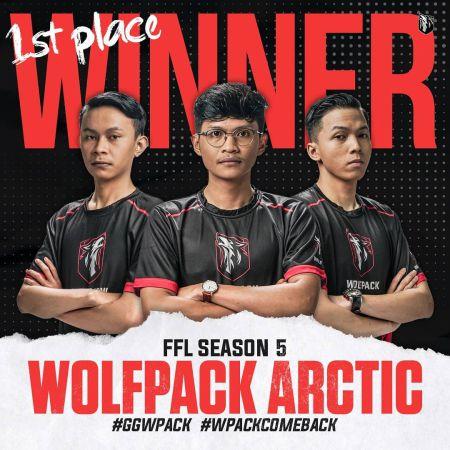 WolfPack Artic Juarai FFL Apex Legends Tournaments S5!