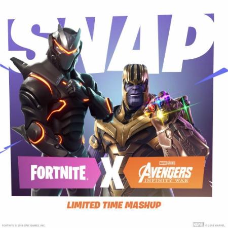Mencoba Kekuatan Infinity Gauntlet dalam Kolaborasi Fornite x Infinity War