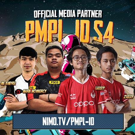 Siarkan PMPL ID Season 4, NimoTV Siapkan Talkshow dan Lucky Draw!
