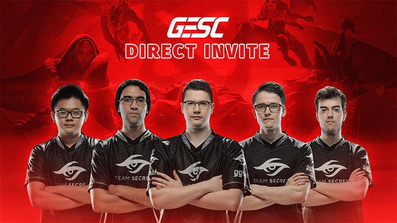 Teruskan Gaungnya, GESC Undang Team Secret ke Thailand!