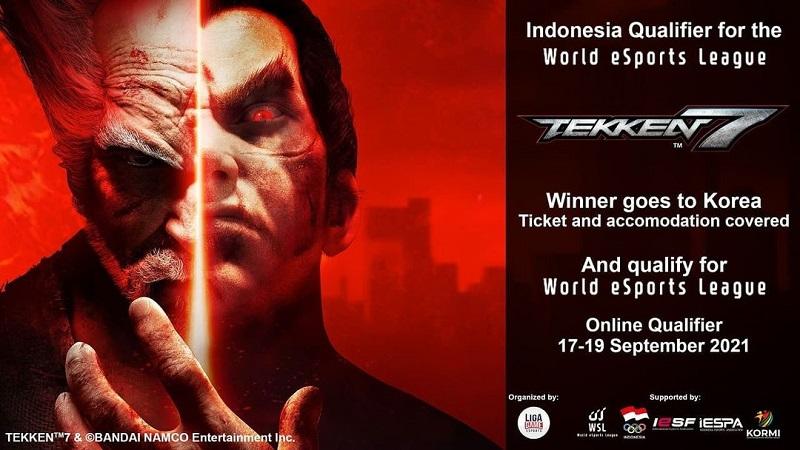IESPA Cari Pemain Tekken 7 Terbaik Untuk World Esports League