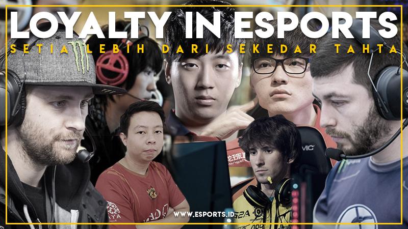 Arti Komitmen bagi 7 Pemain eSports Paling Setia