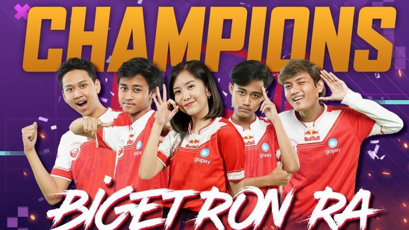 Kembali Unjuk Taring, Bigetron RA Juarai Grand Final PMPL Indonesia