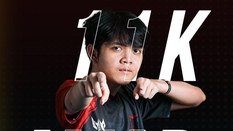 Mikoto Player Indonesia Pertama yang Capai MMR 11.000 di DOTA 2