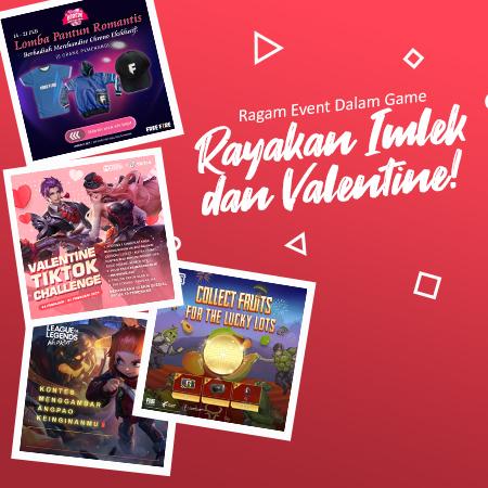 Ragam Event Dalam Game Rayakan Imlek dan Valentine 2021!