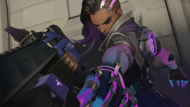 Pelajari Hero Meta Baru di Overwatch, Sombra - The Talon's Hacker