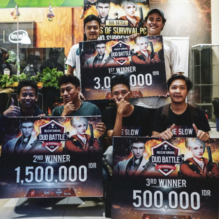 Juara-Juara Kece di ROS PC - Duo Weekly Tournament Offline