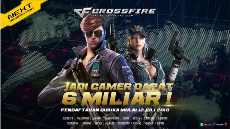 Crossfire Stars 2018, Siapkan Prize Pool 6M dan 80 Negara