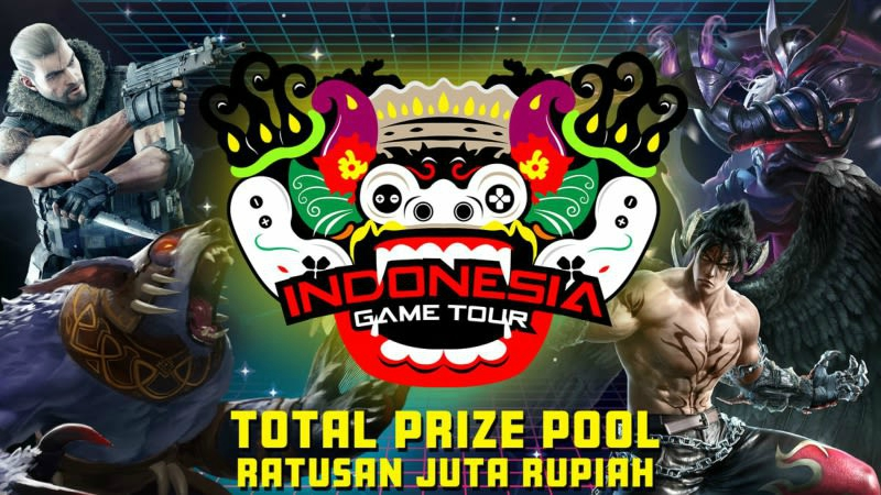Jajaran Tim Direct Invite di Indonesia Game Tour 2018
