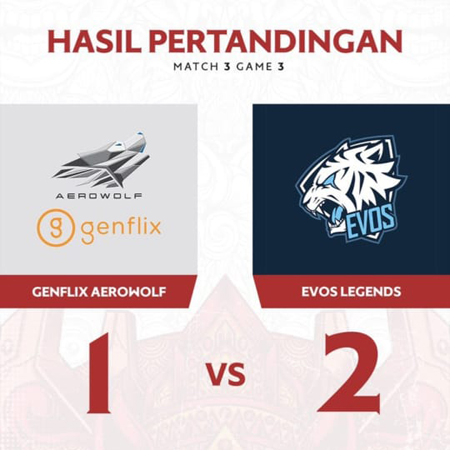 Back on Track! Pendragon Sebut EVOS Legends Makin Kompak