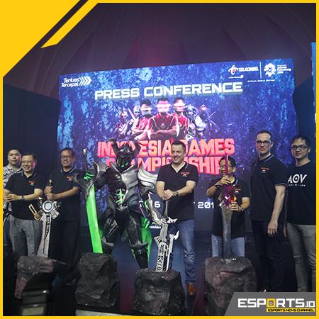 Tebar Hadiah 600 Juta, Indonesia Games Championship 2018 Digelar!