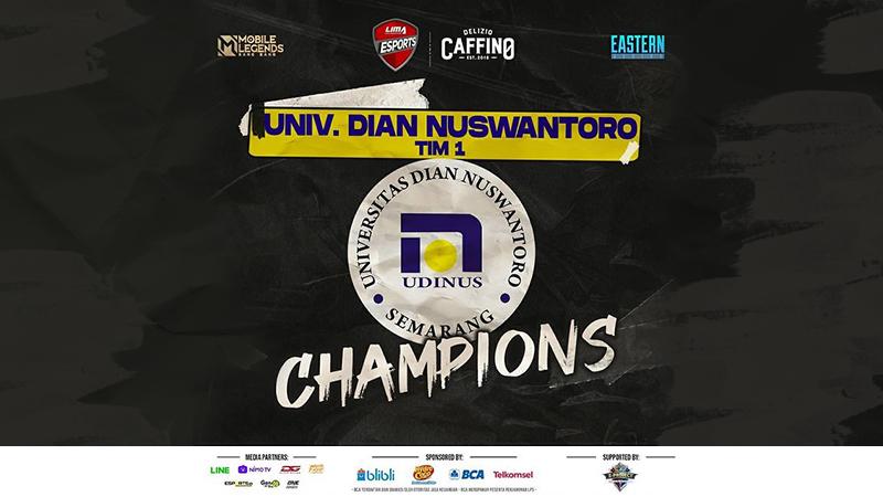 Juara Region Eastern, Udinus Menuju Fase Nationals MLBB!