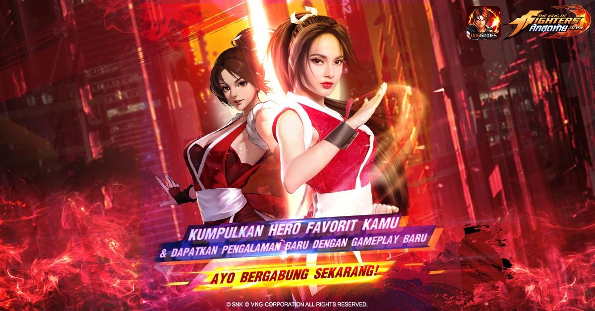 Janjikan Kompetisi Esports, KOF AllStar VNG Masuki Masa Open Beta