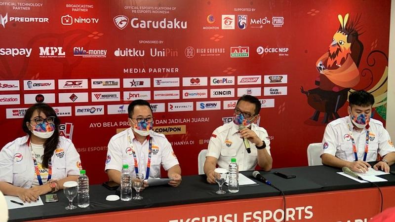 """PBESI: """"PON XX Papua Tonggak Sejarah Esports Indonesia"""""""