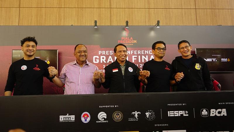 Sandiaga Uno & Menpora Anjurkan Esports untuk Masa Depan Anak