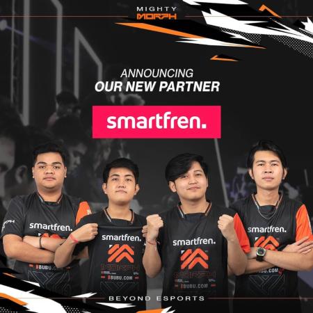 Partner Baru! Smartfren Umumkan Kerjasama dengan MORPH Team