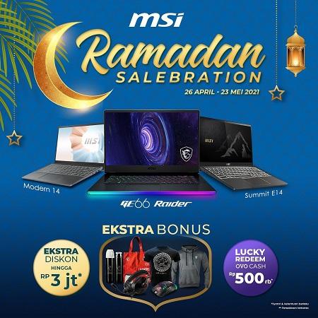 Semarakkan Bulan Penuh Berkah, MSI Hadirkan Ramadan Selebration