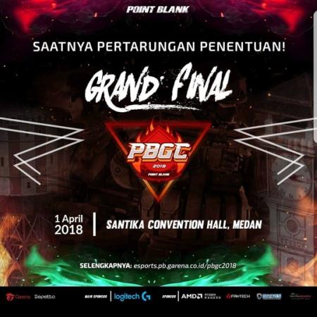 GARENA Gelar Grand Final PBGC dan PBLC 2018 di Medan