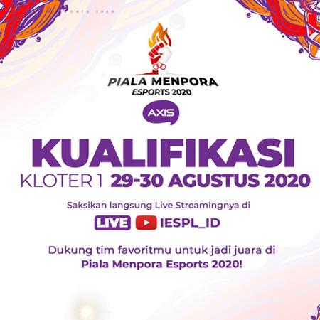 Piala Menpora Esports 2020 AXIS Masuki Babak Kualifikasi Kloter Satu