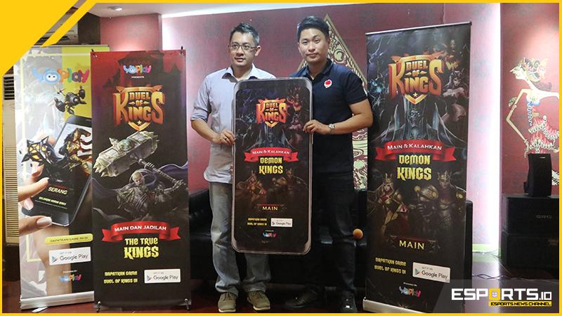 Lihat Potensi eSports Makin Pesat, YoPlay Luncurkan Duel of Kings!