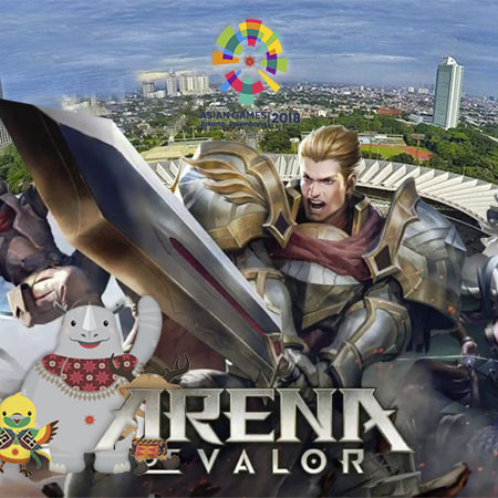 Kabar Gembira! Arena of Valor Cabang eSports di Asian Games 2018