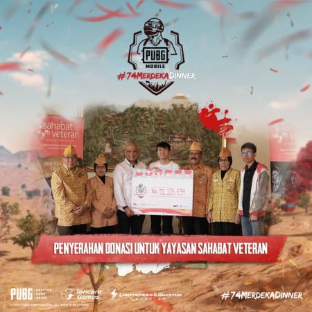 Rekap dan Donasi PUBGM Merdeka Dinner Bagi Veteran!